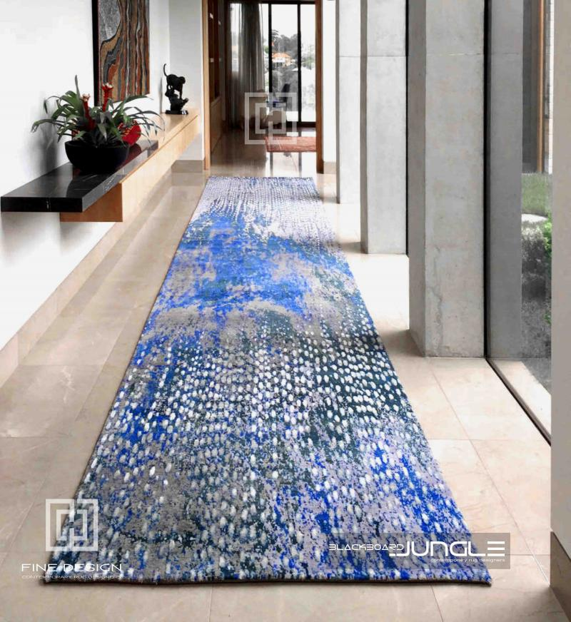 Blue_passage_organic_pattern_runner