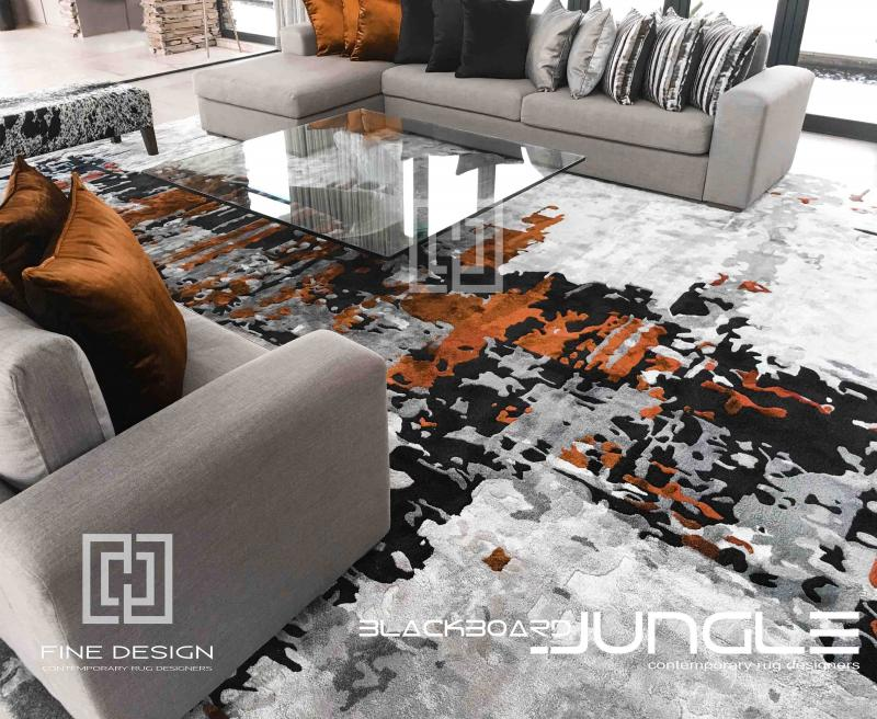 Modern_Grey_and_gold_lounge_rug